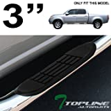 """Topline Autopart 3"""" Chrome Side Step Nerf Bars Running Boards Jl 04-06 Toyota Tundra Double Cab"""