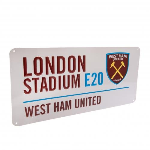 West Ham Street Sign