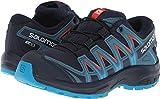 Salomon Kids XA Pro 3D CSWP J, Trail Running Shoe, navy blazer / mallard blue / hawaiian surf ,  Child 1.5