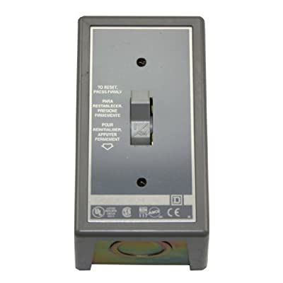 Square D 2510Fg1 FHP Manual Starter Switch Contactor Toggle Operator Nema 1 Enclosure by Schneider Electric Group