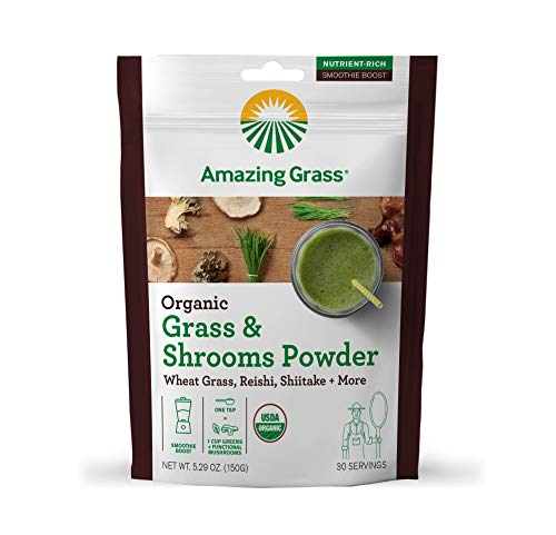 Amazing Grass Wheatgrass Shittake Mushrooms
