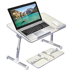 Avantree ajustable mesa de cama para port til soporte para portatil de lectura escritorio - Soporte portatil sofa ...