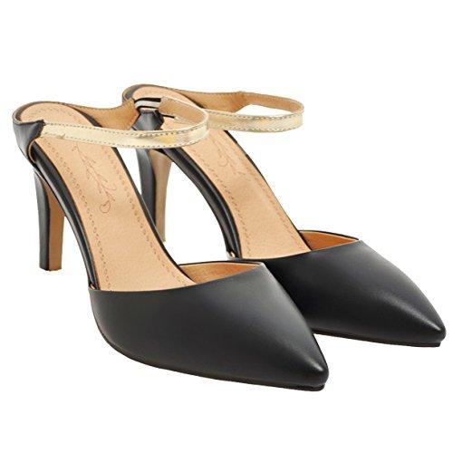 Mules Femme Femme Mules Noir Mules Noir JYshoes JYshoes JYshoes Femme Mules Noir JYshoes Femme 4tAYzxq6