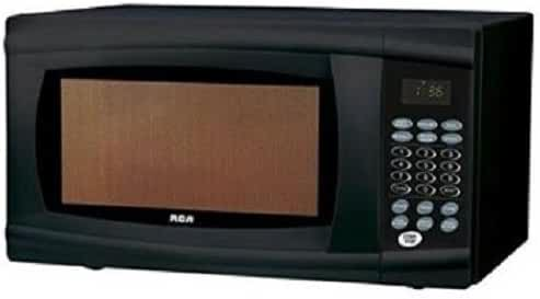 RCA 1.1 Cu Ft Microwave, Black Rmw1112-black