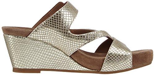 Mephisto BEATRIX REFLET 5133 NICKEL - Sandalias de vestir de cuero para mujer Plata - Silber (NICKEL)