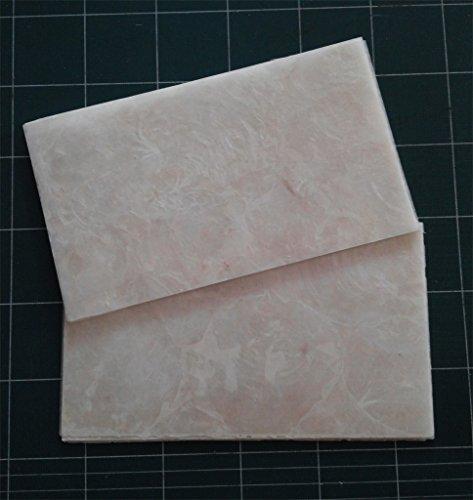 Transparent Capiz Shell Inlay Veneer 9.5 x 5.5 x 0.006 inch
