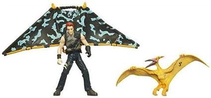 Pteradon TRU exclusive Jurassic Park Dino Glide Billy Brennan vs