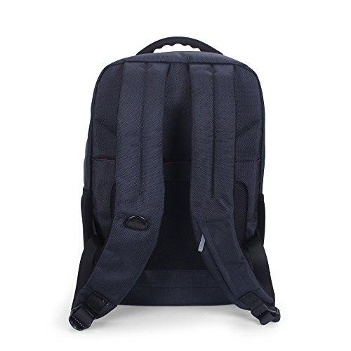 WTUS Hombre Katy Perry en los hombros de negocios multifuncional de gran capacidad de la mochila un bolso de viaje negro