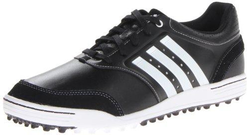 adidas Men's Adicross III Golf Shoe,Black/Running White,9 M US