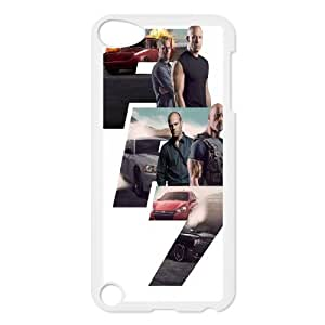 Furious 7 FG0021754 Phone Back Case Customized Art Print Design Hard Shell Protection Ipod Touch 5
