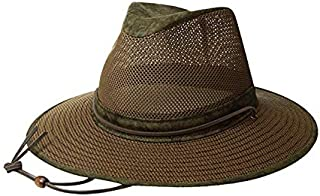 product image for Henschel Hats Aussie Breezer 5310 Cotton Mesh Hat Distressed Gold Boxed High 9 Sales