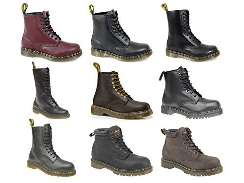 Dr. Martens Men's FORGE ST Dr Martens Industrial Safety Boot UK 11 Brown