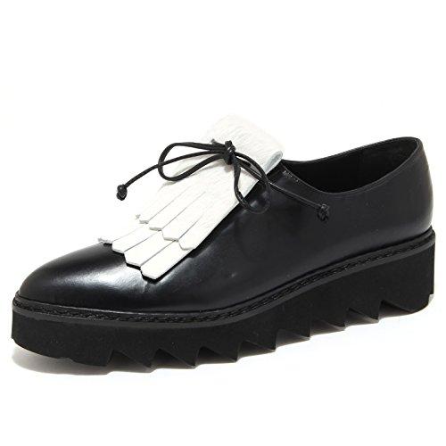 LA women nero scarpa shoes PILI BLANCHE nero donna CORDE scarpe bianco 6272N F5OHxqO