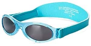 Baby Banz Adventure Sunglasses, Caribbean Blue, 0-2 Years, 1-Pack