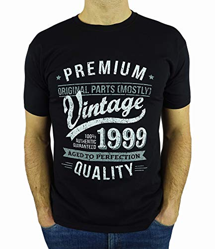 2000 Vintage Year – Aged to Perfection – 21st Birthday Gift/Present Mens T-Shirt