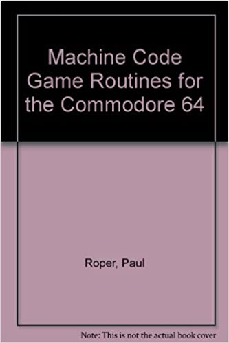 machine code game routines for the commodore 64 amazon co uk paul