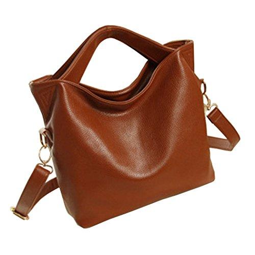 Womens Handbags Shoulder Bags Handbags Totes Handbags With Leather Handle Barna Fekete