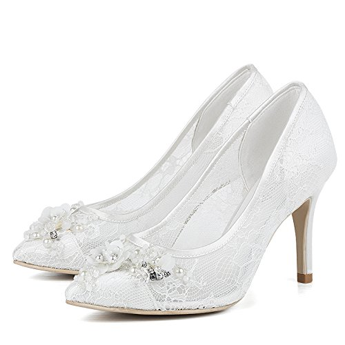 White Wedding In High Prom VIVIOO Shoes Shoes Sandals With Pointed Heels Documentary Wedding 4 Women Shoes Women The Bride Xwv1Y