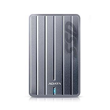 Image of ADATA ASC660H-256GU3-CTI SC660H 256GB Ultra-Slim USB 3.1 External Solid State Drive