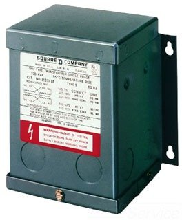 SCHNEIDER ELECTRIC 100SV1A Xfmr Dry 1 Ph .1Kva 240X480-Volt-120/240-Volt ()