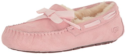 UGG Women's Dakota Stripe Moccasin, Petal, 8 US/8 B US