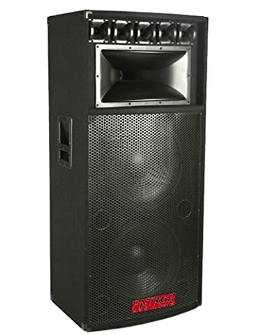 Patron by Mr Dj PSD5000 Professional Dual 15 Inch 8 Way Speaker 5000 Watts Max Peak Momentary Power