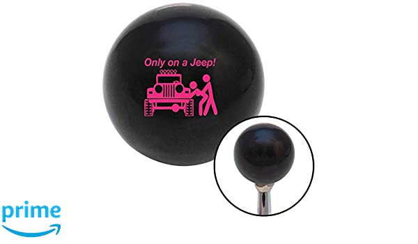 American Shifter 143752 Black Retro Shift Knob with M16 x 1.5 Insert Pink Phoenix