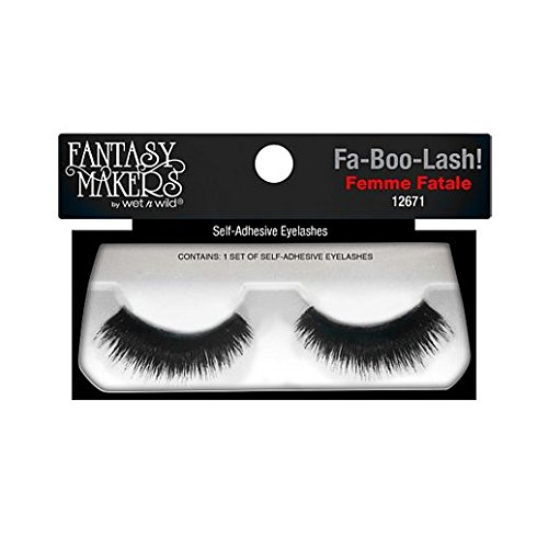 Fancy Face Paint Color Halloween Wet N Wild Femme Fatale False Lashes]()