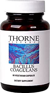 Thorne Research - Bacillus Coagulans - A Unique, Stable Probiotic Supplement to Promote GI Health - 60 Capsules