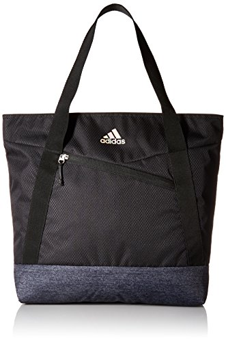 adidas Squad Tote Bag, Black/Black Jersey, One Size