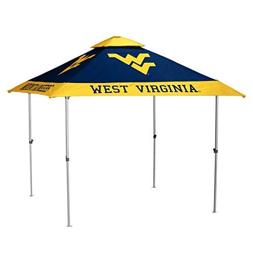 (NCAA West Virginia Pagoda Canopy (No Lights), Multi, One Size)