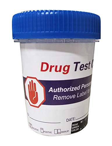 (1 Test) Magenta 12 Panel Instant Drug Test Cup THC-COC-MOP-AMP-MAMP-PCP-BZO-BAR-MDMA-MTD-OXY-OPI-BUP Includes Buprenorphine (Suboxone) and Lower OPI 300ng/ml Cutoff/FDA-510K, OTC & CLIA Waived