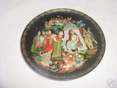 Russian Legends The Golden Cockerel Collector Plate : russian tableware - pezcame.com