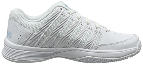 Omni K Impact Women's Heaven Shoes White Performance Court White Silver 198 Tennis Swiss Blue rqIHIwaX