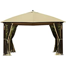 Garden Winds Replacement Canopy Top Cover for the Cedar River Gazebo - 350
