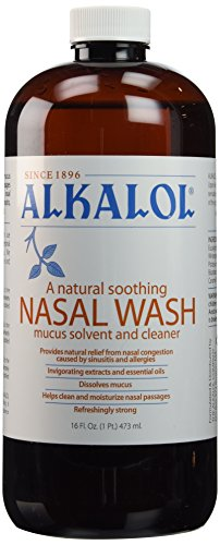 Alkalol Nasal Wash (Alkalol a Natural Soothing Nasal Wash 16 Oz (Pack of)