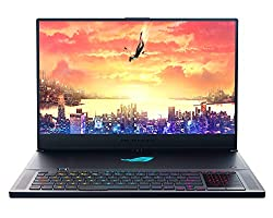 "ROG Zephyrus S Ultra Slim Gaming Laptop, 17.3"" 144Hz IPS-Type, GeForce RTX 2080, Intel i7-8750H Processor, 16GB DDR4, 1TB PCIe Nvme SSD, Military-Grade Metal Chassis, Windows 10 - GX701GX-XS76"