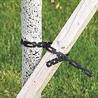 A.M. Leonard Rubber Extra Heavy Duty Adj-A-Tye Chain Lock - 1 Inch x 100 Feet