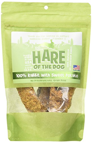 Hare of the Dog Treats Rabbit with Sweet Potato (2.5 oz)