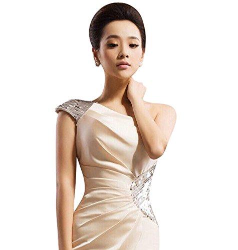 Drasawee Schlauch Damen Schlauch Drasawee Kleid champagnerfarben Kleid Damen champagnerfarben rFrY5wq