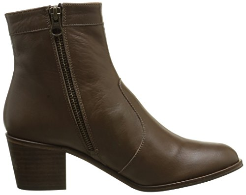 Caviglia Calf Classici alla Donna Olive Marrone Go Clark Stivali Emma xqfwZX8At