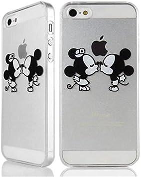 Abaure - Coque Iphone Se / 5S / 5 Mickey et Minnie
