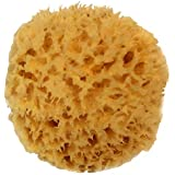 """Natural Sea Wool Sponge 4-5"""" by Spa Destinations ® Amazing Natural Renewable Resource""""Creating The in Perfect Bath and Shower Experience"""" 100% Satisfaction Guarantee!"""
