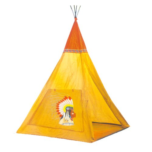 Indian Teepee Tripod Play Tent Kids Hut Children House by - Indian The Hut