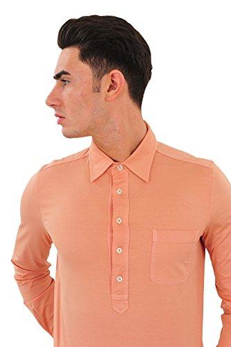 Tom Ford Polo Poloshirt Einfarbig Orange 48