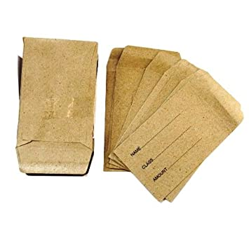 Amazon.com : Lunch Money, Seed Pocket Envelopes - Pack of 50 ...