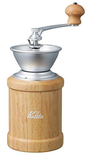 [Kalita(칼리타) 커피용품] Kalita(칼리타) 커피밀 핸드밀 커피분쇄기  칼리타 커피밀 핸드밀 커피분쇄기 손만 와 KH-3N 내츄럴 42077 / KH-3C 아미 그린 42128 / KH-3C 스모키 블루 42125