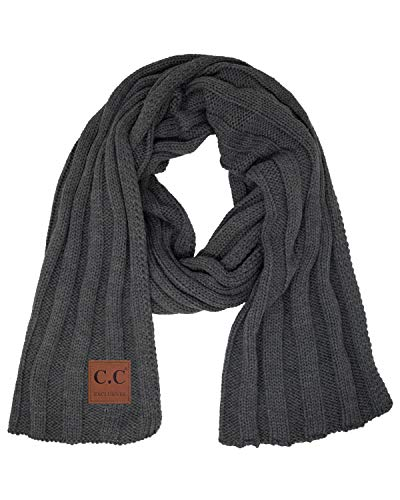 s2 6100 70 oblong scarf charcoal