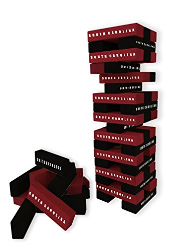 Wild Sports NCAA College South Carolina Gamecocks Table Top Stackers Game
