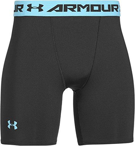 Under Armour Men's UA HeatGear® Armour Compression Shorts - Mid Large Black